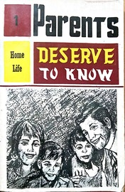 Parents Deserve to know - 1963