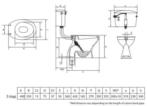 E-ceramall cera-cignia-concealed-s1051108-s-trap-floor-mounting-ewc online